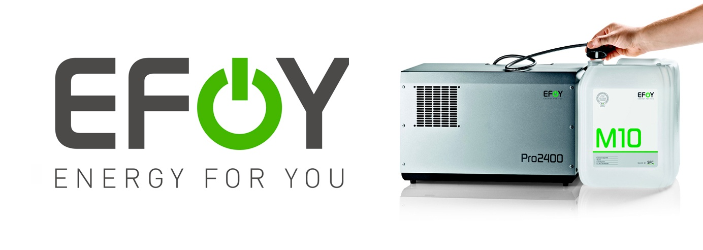 Ac Dc Logo Generator >> EFOY Fuel Cell Generators for Off-Grid and Mobile Applications